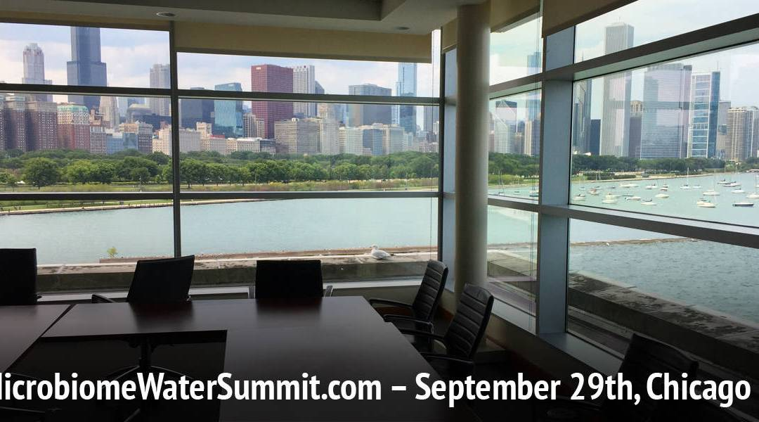 Only 7 Seats Left at the 2017 Microbiome Water Summit!