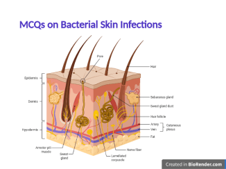 MCQs Bacterial Skin Infection