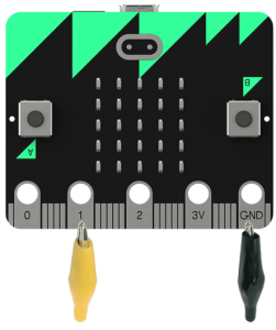 microbit transistor connections