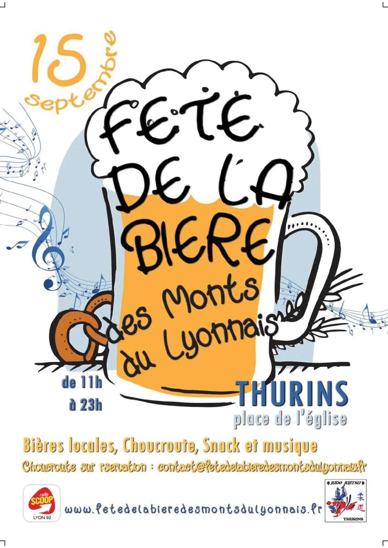 fête de la bière des monts du lyonnais thurins