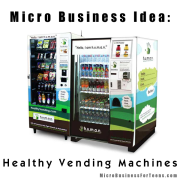 Micro Business Idea: Healthy Vending Machines