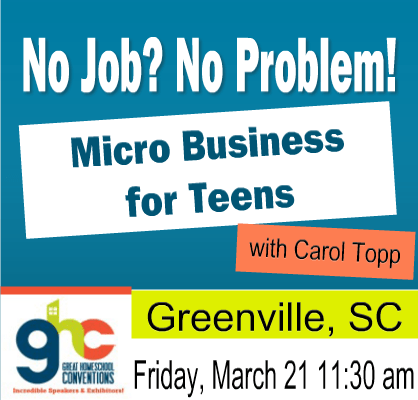 Micro Business for Teens in Greenville, SC