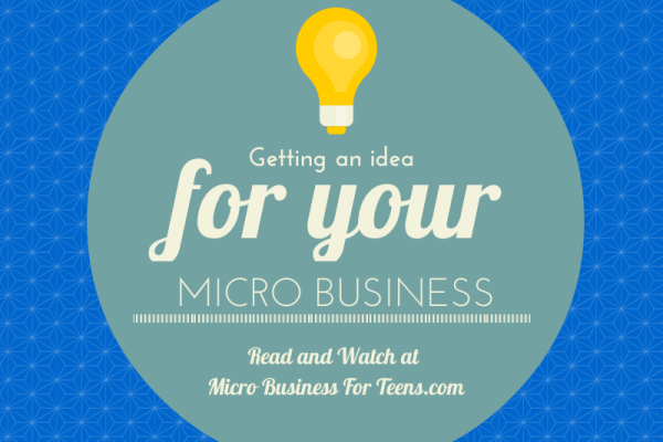 Video: Getting an Idea for Your Micro Business