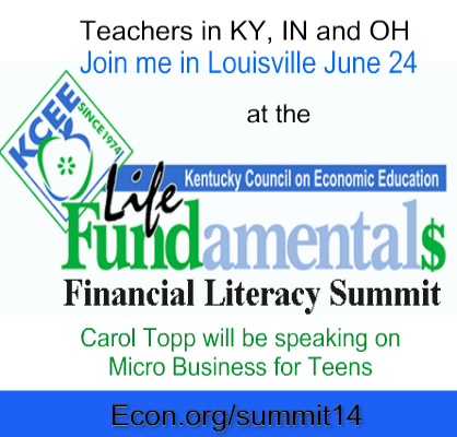 Teaching Dollars and Sense for Teachers in IN, KY and OH