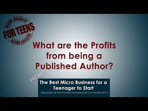 Video: What are the Profits from being a Published Author?