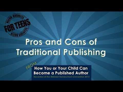 Video: Pros and Cons of Traditional Publishing