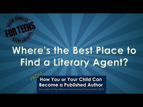 Video: Where's the Best Place to Find a Literary Agent?