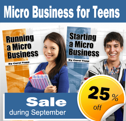 Sale on Micro Business for Teens books