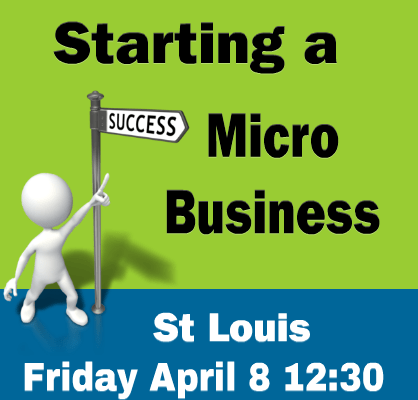 Micro business workshops in Cincinnati and St Louis