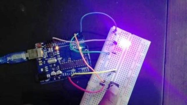 how to use push button with Arduino