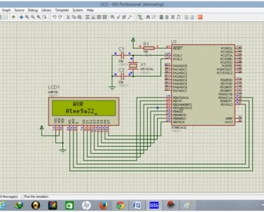 LCD interfacing with ATMEGA32