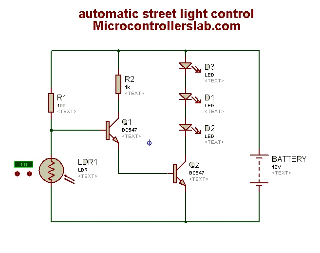 Automatic Street Light Control Circuit Diagram furthermore 5v Regulator moreover Simple Li Ion Battery Charger Circuit besides Arduino Mega 2560 Library Proteus further Automatic Inverter Supply And Mains. on simple led circuit diagram