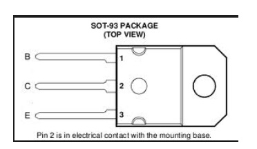 pin configuration of TIP142