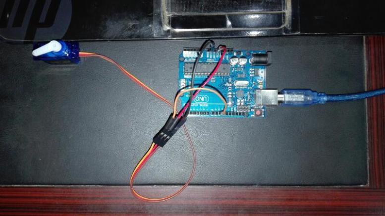 servo motor interfacing with arduino
