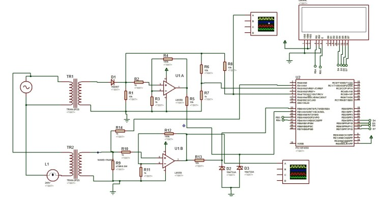 AC power measurement using pic microcontroller