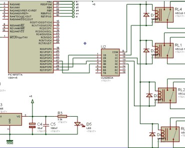 relay driver circuit using uln2003