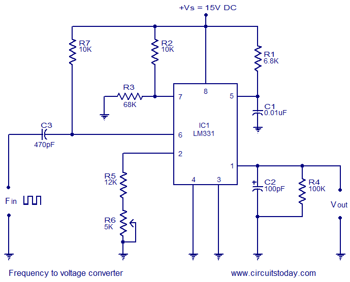Fabulous Frequency To Voltage Converter Circuit Diagram Wiring 101 Archstreekradiomeanderfmnl