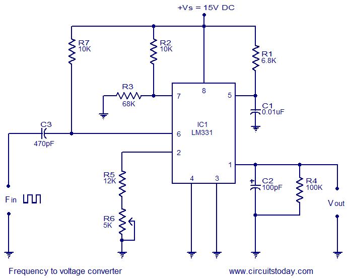 Brilliant Frequency To Voltage Converter Circuit Diagram Wiring Database Gramgelartorg