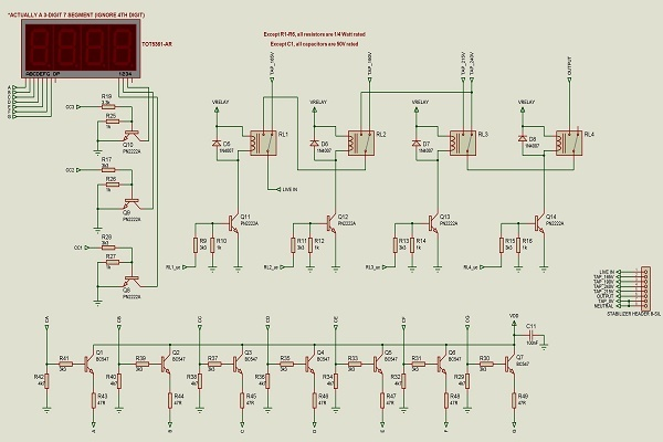 automatic voltage stabilizer circuit diagramDiagram Cc Post Posted Sun Sep Picture To Wiring Diagrams By #14