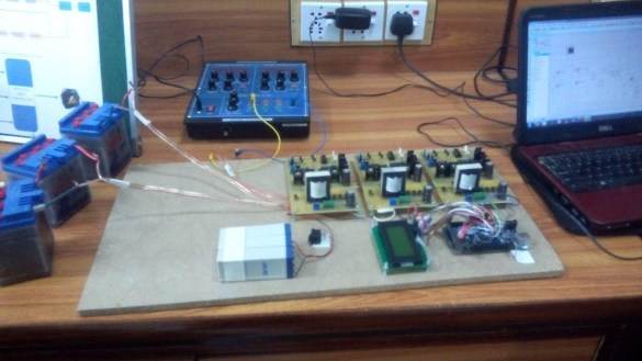 multiple input charge controller using pic microcontroller