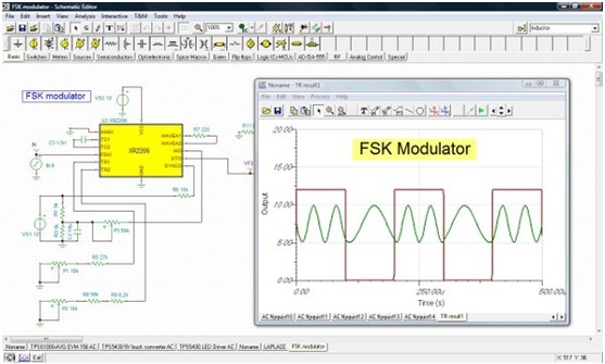 Circuit Simulator With Rapid Schematic Capture And Many