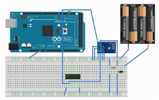 esp8266 wifi module interfacing with arduino