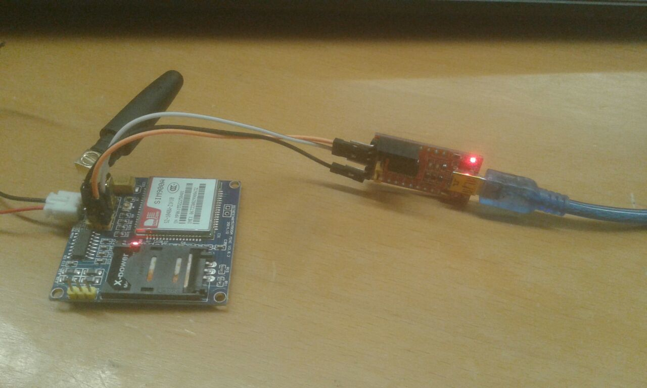 Receive sms gsm module using pic microcontroller