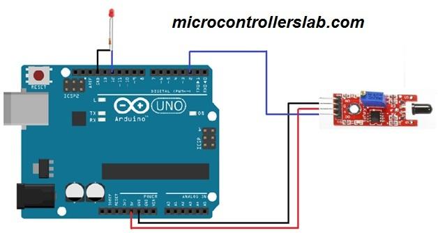 flame sensor interfacing with arduino