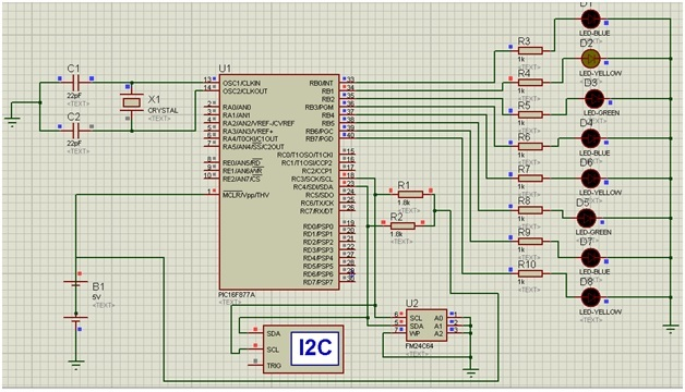 I2C communication and interfacing with pic microcontroller
