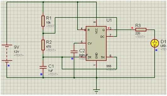 555 timer circuit diagrams   different modes of 555 timer
