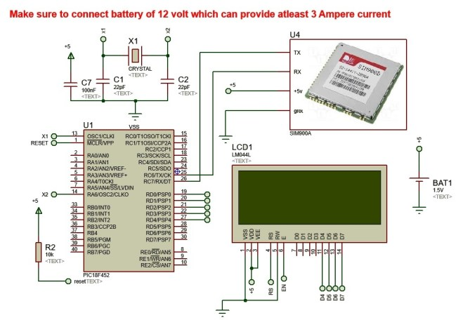 Wireless Electronics Notice Board Controlled by GSM with Number of Programmable Features