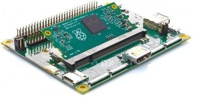 A Simple Raspberry Pi Module with all Peripheral Ports