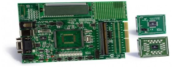 XLP 16-Bit pic microcontroller Development Board