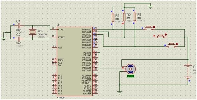 servo motor interfacing with 8051 using keil compiler
