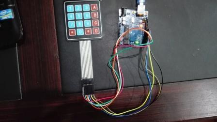 keypad interfacing with arduino