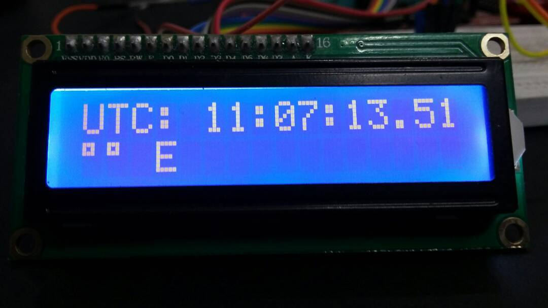 GPS based clock using pic microcontroller - Universal clock