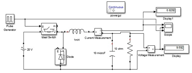 Dc to dc buck converter simulation with Simulink - Power Electronics