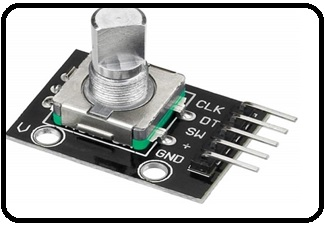 Rotary Encoder Module interfacing with pic16f877a microcontroller
