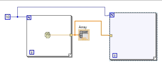 Loop auto indexing using LabView : tutorial 9