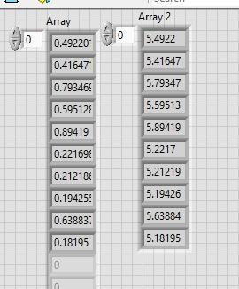 Looping through array