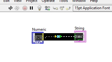 Using debugging tool in LabView