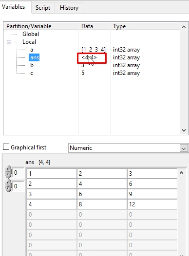 MathScript in LabView