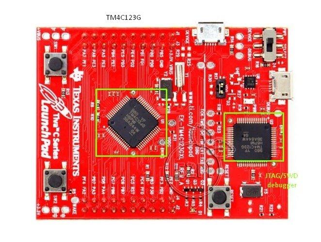 TM4C123G LaunchPad Chip