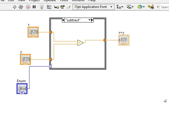 How to design calculator in labview : tutorial 27