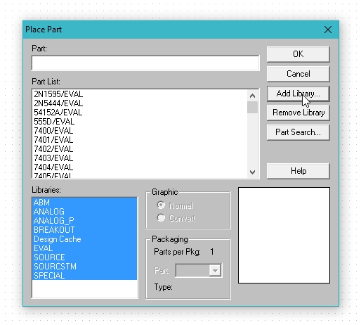 Getting started with pspice schematic