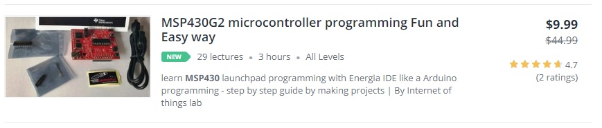 Complete list of Video courses | Microcontrollers Lab
