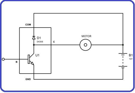 5 ULN2803 motor interfacing