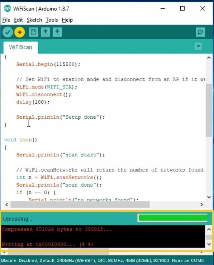installing ESP32 in Arduino IDE 12