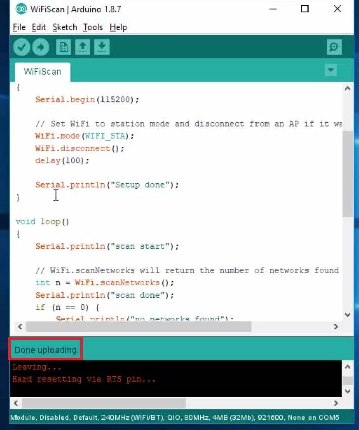 installing ESP32 in Arduino IDE 13