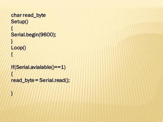 Serial.Read function MSP430